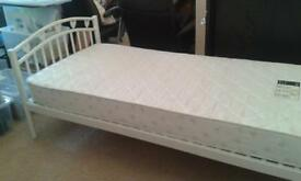 children's white single bed from NEXT