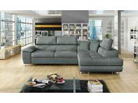 BEST FURNITURE-NEW ARTON LEATHER STORAGE,Ottoman sofa bed AND Universal Corner Sofa SOFA BED