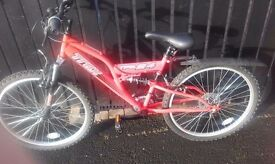 As New (never been used) Trax TFS 24 inch bicycle