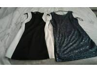 Two party dresses size 16
