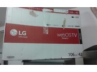 BRAND NEW !!! LG SMART - 3D - LED TV 42 INCH WITH WEBOS RRP £ 484 boxed