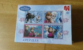 Disney Frozen single duvet set, puzzle, book, top and Princess duvet cover