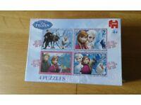 Disney Frozen single duvet set, puzzle, book, top and Princess duvet cover
