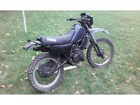 DT125LC 10v mk1 1983 drum brake project
