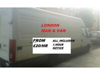 London Removals, Courier All London