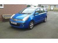 NISSAN NOTE 1.4 SPECIAL EDITION IN METALIC BLUE