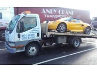 Vehicle transport, relocation, recovery, breakdown, cars, small vans, flatbed work, man and van