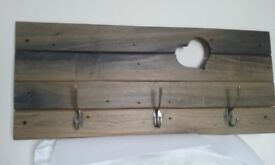 Vintage wooden coat hanger
