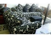 New ex display John Lewis sofa plus cuddle chair delivery free bargain