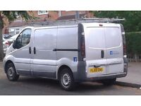 VAUXHALL VIVARO 1,9 CDTI 55 REG SILVER LONG MOT STARTS AND DRIVES PERFECT IN GOOD WORKING ORDER
