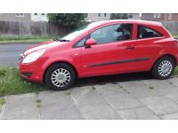 2007 Vauxhall Corsa Red 66000 miles