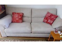 3 piece lounge suite for sale - 2 one seaters and a 3 seater in excellent condition