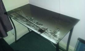 New york style backdrop desk & chair