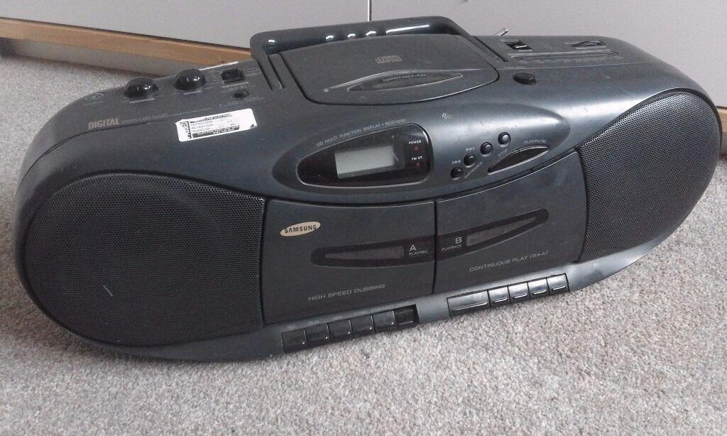 Samsung cd tape stereo player ghetto blaster in oldham manchester gumtree - Ghetto blaster acheter ...