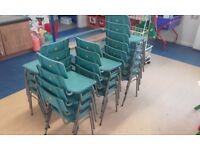24 small nursery chairs