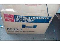 Panasonic RS-281s Stereo Cassette Tape Deck
