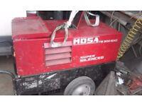 mosa ts 300 sxc welder.only done 834 hrs.