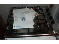 Brand New & unused 4 burner gas hob