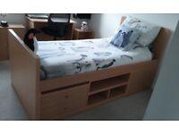 2 X Kids Beech Cabin Beds