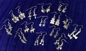 BRAND NEW womens lovely earring and matching bracelet sets ONLY £1.00 set great for CHRISTMAS