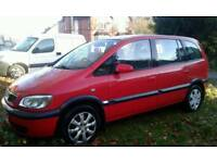 7 seather zafira 2005
