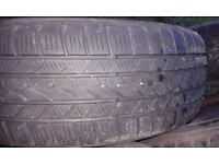 Moving -> REDUCED !!! 215/65 R16 - Winter tyres on 5 * 4.5inch steel rims - all 4 for 20 GBP !!!
