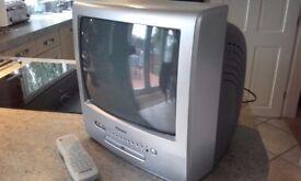 PortableTV in DVD player