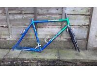 """NEW Fuji mountain bike frame CroMo 26"""" with brakes"""