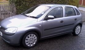 VAUXHALL CORSA 1.0 cc Manual 5-Door 2003 MODEL YEAR ECONOMICAL , GREAT CONDITION FOR AGE OF CAR