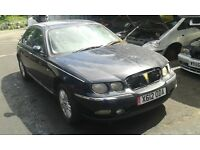2000 Rover 75 1.8 Club SE 4dr blue manual JQW SCF BREAKING FOR SPARES
