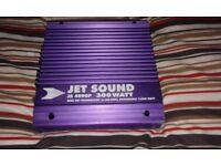 Jetsound JS4090P 300W Car Audio AMP - 2x150W or 1x300Wbridged - Sub Filters @ 80Hz & 150Hz