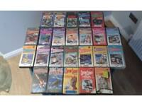 Gerry Anderson VHS Video collection