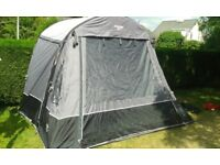 Vango Kela 2 (Tall) Blow up Awning with pump. Very good condition