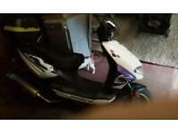 Lexmoto tornado scooter