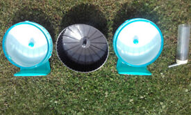 Hamster/mice wheels and small pet water bottle