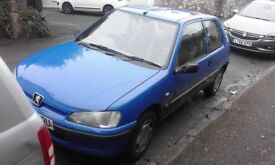 peugeot 106 blue 73k 2003, long mot