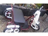 Thistle tri-lo bike