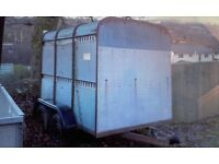 8x5 Ifor Williams cattle box