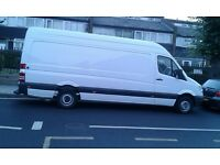 MAN AND VAN HOUSE REMOVALS SHORT NOTICE SAME DAY DELIVERY CLEARANCE COLLECTION CARPENTER FLOORING @