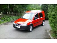 Vauxhall combo crew van/day van like transit connect, vw caddy,astra v