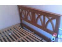 Ikea pine bed