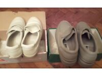 2 pairs mens casual soft shoes