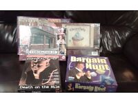 3 Jigsaws & 2 games, including Bargain Hunt, mixture of new & used (good condition)