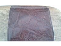 Genuine vintage Mulberry ladies purse and wallet in brown congo leather.