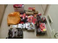 Huge tools and tool parts joblot 300+ items all new