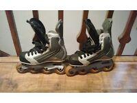 Bauer Nike roller skates
