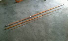 Vintage bamboo/split cane fishing rod