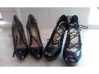 """2x 5""""high heels"""