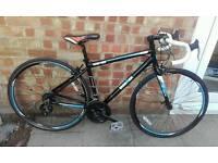 Brand new ex demo racing bike unisex