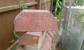 Double cant engineering bricks red